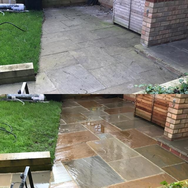 Driveway cleaning services in HARPENDEN